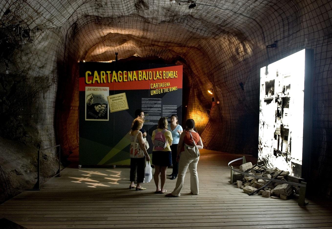 Refugio Guerra Civil Cartagena